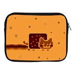 Nyan Cat Vintage Apple iPad 2/3/4 Zipper Cases Front