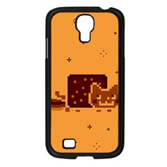 Nyan Cat Vintage Samsung Galaxy S4 I9500/ I9505 Case (Black)
