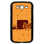 Nyan Cat Vintage Samsung Galaxy Grand DUOS I9082 Case (Black) Front