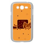 Nyan Cat Vintage Samsung Galaxy Grand DUOS I9082 Case (White) Front