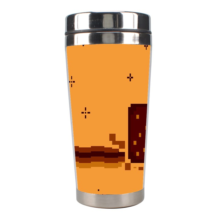 Nyan Cat Vintage Stainless Steel Travel Tumblers