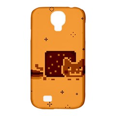 Nyan Cat Vintage Samsung Galaxy S4 Classic Hardshell Case (PC+Silicone)