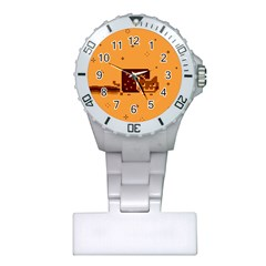 Nyan Cat Vintage Plastic Nurses Watch