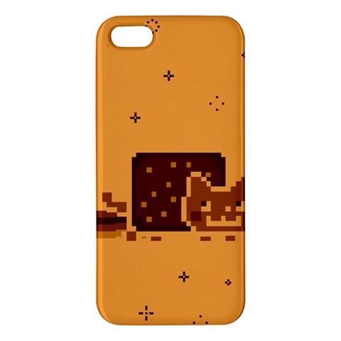 Nyan Cat Vintage iPhone 5S/ SE Premium Hardshell Case