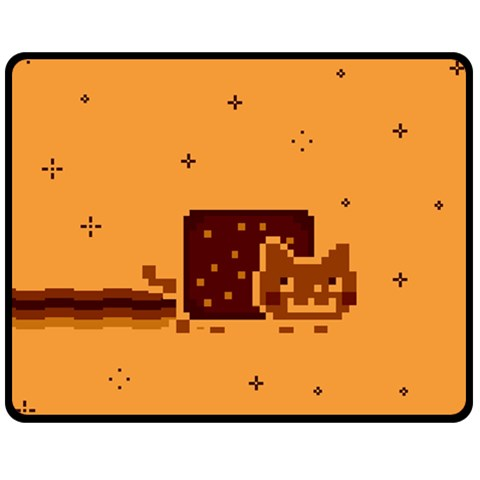 Nyan Cat Vintage Double Sided Fleece Blanket (Medium)