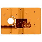 Nyan Cat Vintage Kindle Fire HDX Flip 360 Case Front