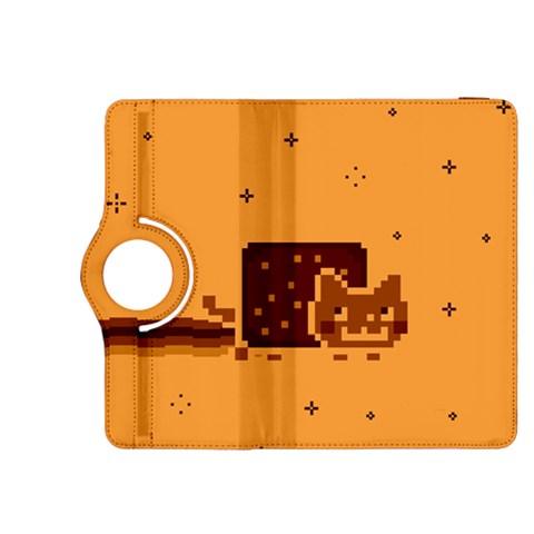 Nyan Cat Vintage Kindle Fire HDX 8.9  Flip 360 Case