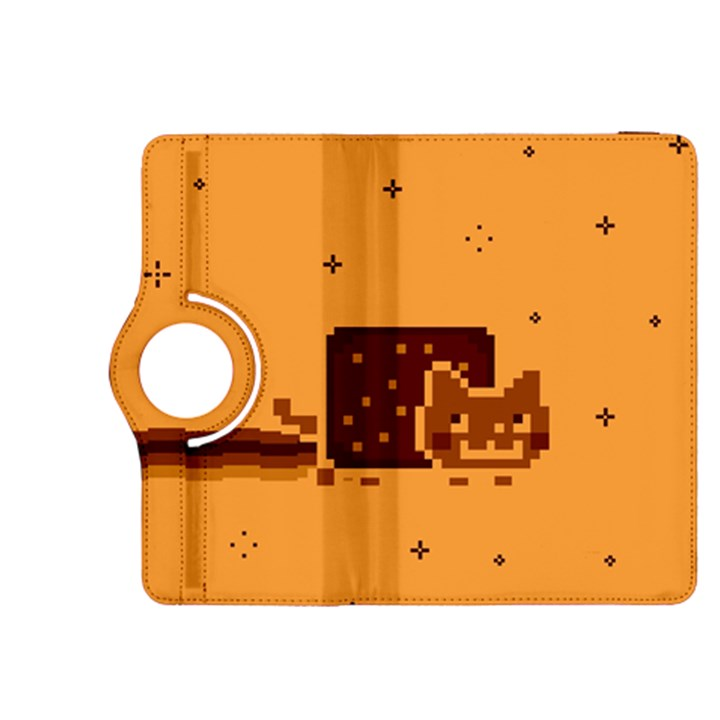 Nyan Cat Vintage Kindle Fire HDX 8.9  Flip 360 Case