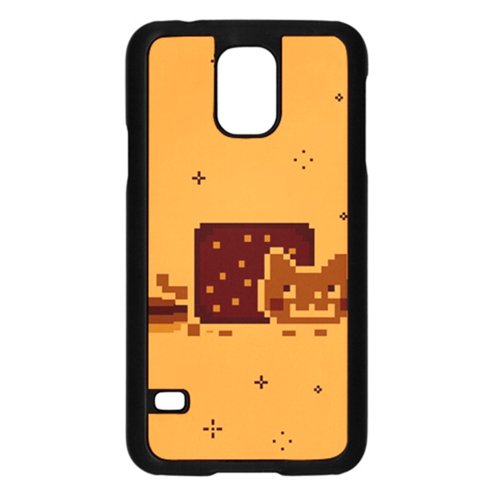 Nyan Cat Vintage Samsung Galaxy S5 Case (Black)