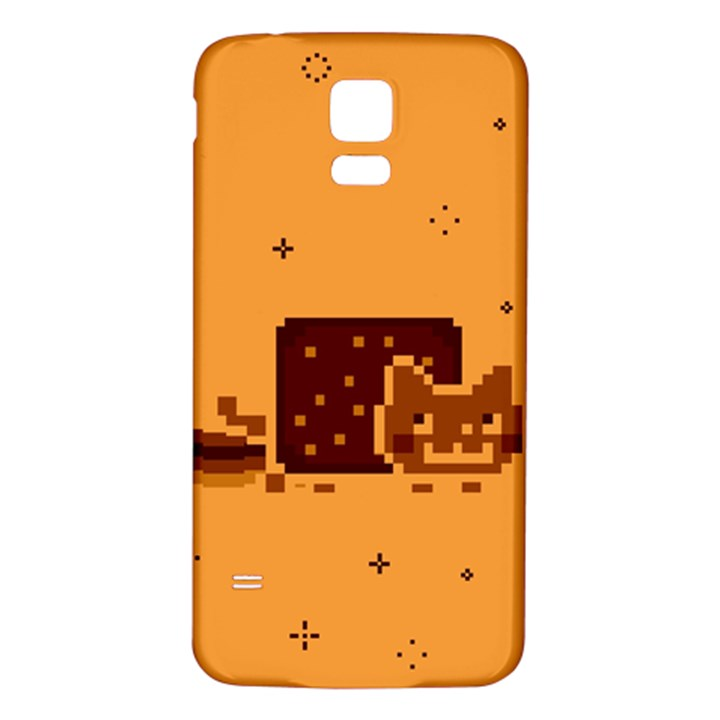 Nyan Cat Vintage Samsung Galaxy S5 Back Case (White)