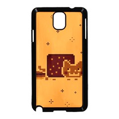 Nyan Cat Vintage Samsung Galaxy Note 3 Neo Hardshell Case (Black)