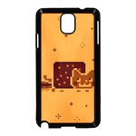 Nyan Cat Vintage Samsung Galaxy Note 3 Neo Hardshell Case (Black) Front