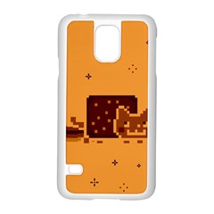 Nyan Cat Vintage Samsung Galaxy S5 Case (White)