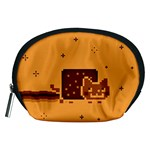 Nyan Cat Vintage Accessory Pouches (Medium)  Front