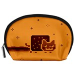 Nyan Cat Vintage Accessory Pouches (Large)  Front