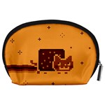 Nyan Cat Vintage Accessory Pouches (Large)  Back