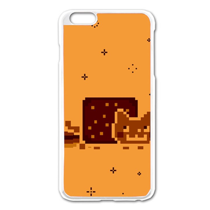 Nyan Cat Vintage Apple iPhone 6 Plus/6S Plus Enamel White Case