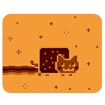 Nyan Cat Vintage Double Sided Flano Blanket (Medium)  60 x50 Blanket Back