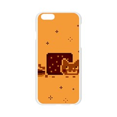 Nyan Cat Vintage Apple Seamless iPhone 6/6S Case (Transparent)