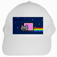 Nyan Cat White Cap