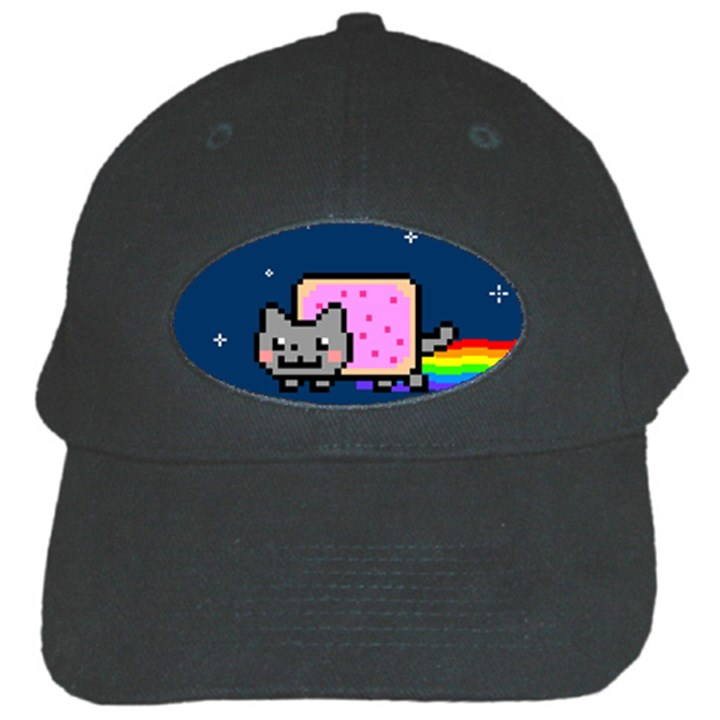 Nyan Cat Black Cap