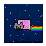 Nyan Cat Tile Coasters Front