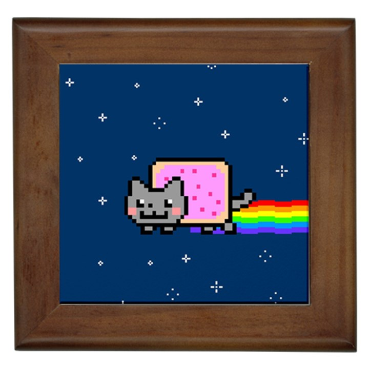 Nyan Cat Framed Tiles