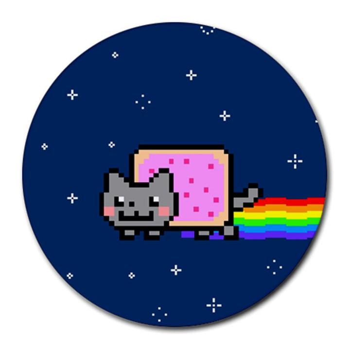 Nyan Cat Round Mousepads
