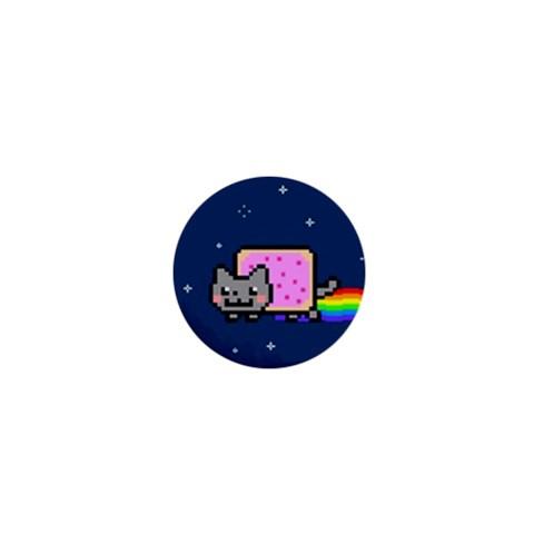 Nyan Cat 1  Mini Buttons
