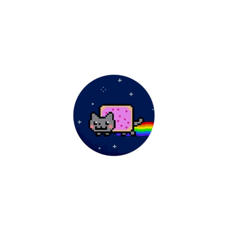 Nyan Cat 1  Mini Buttons