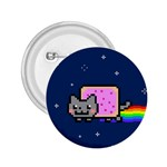 Nyan Cat 2.25  Buttons Front
