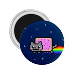 Nyan Cat 2.25  Magnets Front