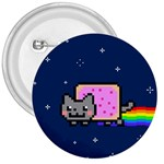 Nyan Cat 3  Buttons Front