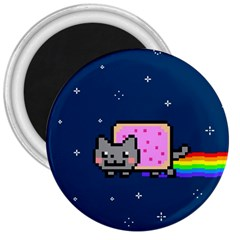 Nyan Cat 3  Magnets