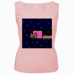 Nyan Cat Women s Pink Tank Top