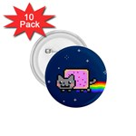Nyan Cat 1.75  Buttons (10 pack) Front