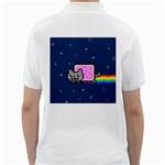 Nyan Cat Golf Shirts Back