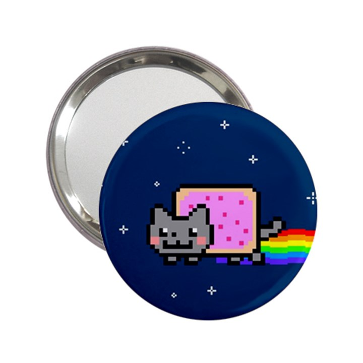 Nyan Cat 2.25  Handbag Mirrors