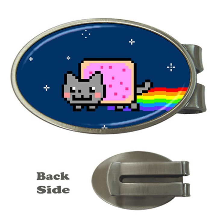 Nyan Cat Money Clips (Oval)