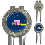 Nyan Cat 3-in-1 Golf Divots Front