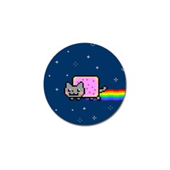 Nyan Cat Golf Ball Marker