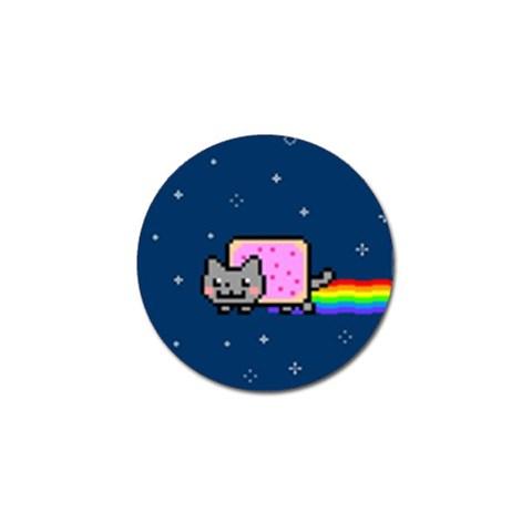 Nyan Cat Golf Ball Marker (10 pack)