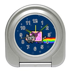 Nyan Cat Travel Alarm Clocks