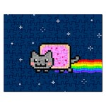 Nyan Cat Rectangular Jigsaw Puzzl Front