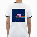 Nyan Cat Ringer T-Shirts Back