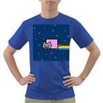 Nyan Cat Dark T-Shirt Front
