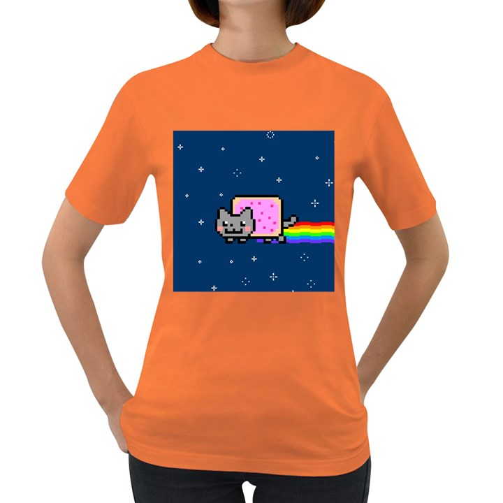 Nyan Cat Women s Dark T-Shirt