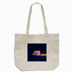 Nyan Cat Tote Bag (Cream)