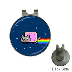 Nyan Cat Hat Clips with Golf Markers