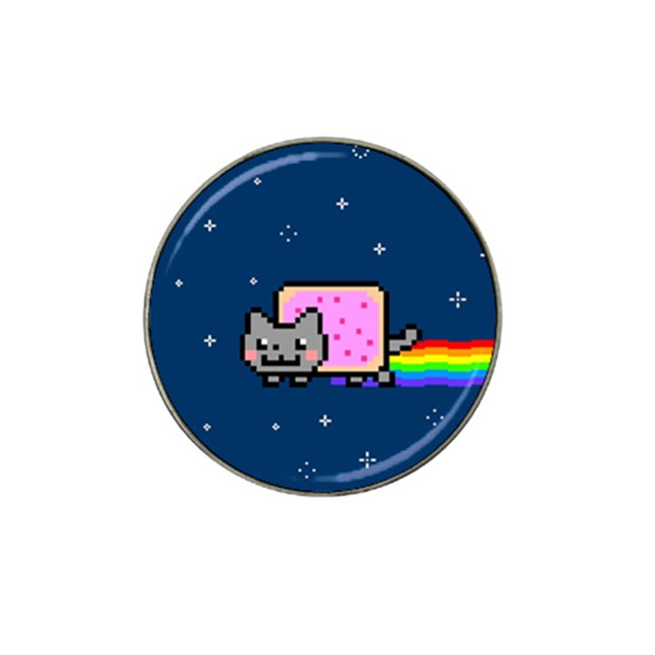 Nyan Cat Hat Clip Ball Marker